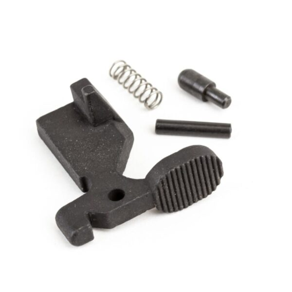 AR-15 Bolt Catch Assembly Kit with Plunger, Spring & Roll Pin -Black