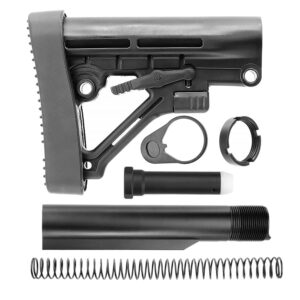 OMEGA AR15 MIL-SPEC STOCK ASSEMBLY KIT (BLACK)