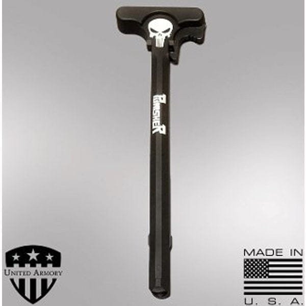 AR-15 Charging Handle with Latch - PUNISHER