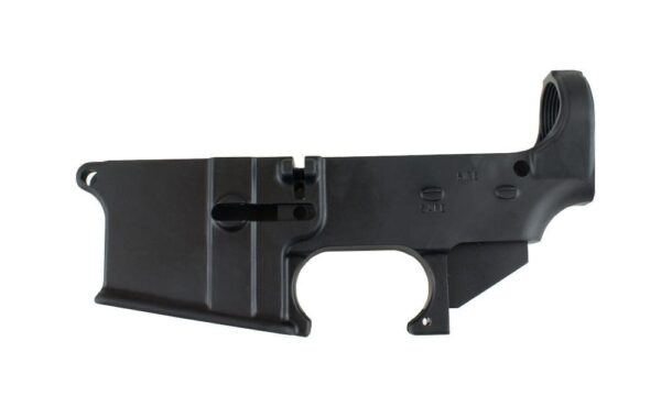 AR-15 80% Forged Lower Receiver - Anodized BLACK