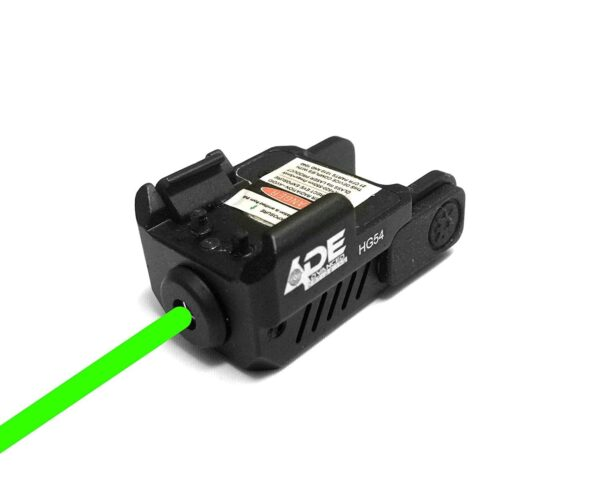 Ade Advanced Optics HG54G Strobe Green Laser Sight for Pistol Handgun